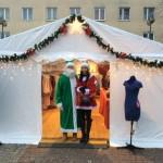 Namioty na Placu AK w Mielcu