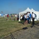 Namiot Turek na lotnisku w Mielcu z okazji 75 Rocznicy Lotnictwa