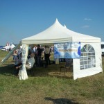 Namiot Turek - lotnisko w Mielcu