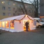 Namiot plenerowy - Plac AK w Mielcu.