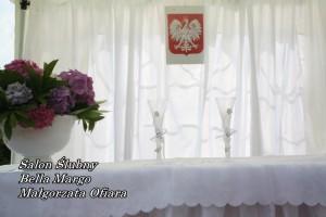 Wynajem namiotów na ślub w plenerze Mielec.