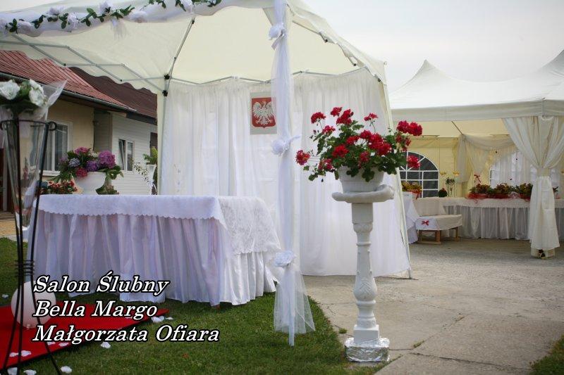 Wynajem namiotów na ślub w plenerze Mielec