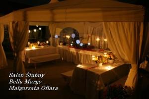 Namiot Turek i dekoracje