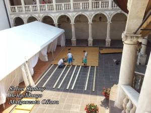 Podłoga taneczna wynajem Mielec - Zamek w Baranowie Sandomierskim