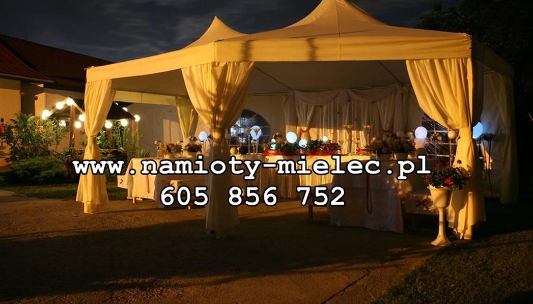 Namiot weselny, plenerowy, turek pagoda pawilon. Namiotu typu pawilon w rożnych aranżacjach, jako weselny namiot powitalny, komunijny, na poprawiny - czy na małe wesele.